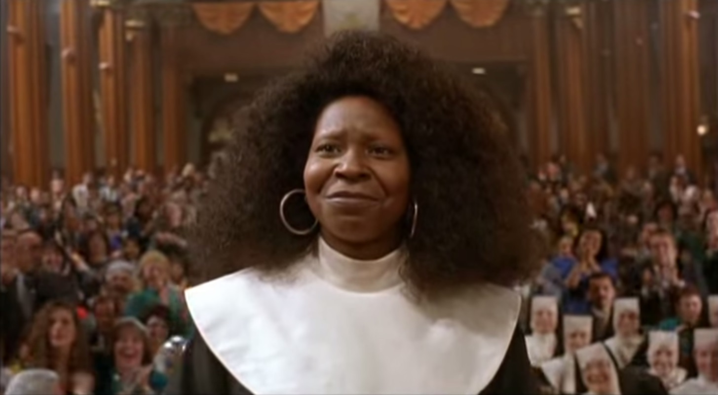 Image result for sister act whoopi