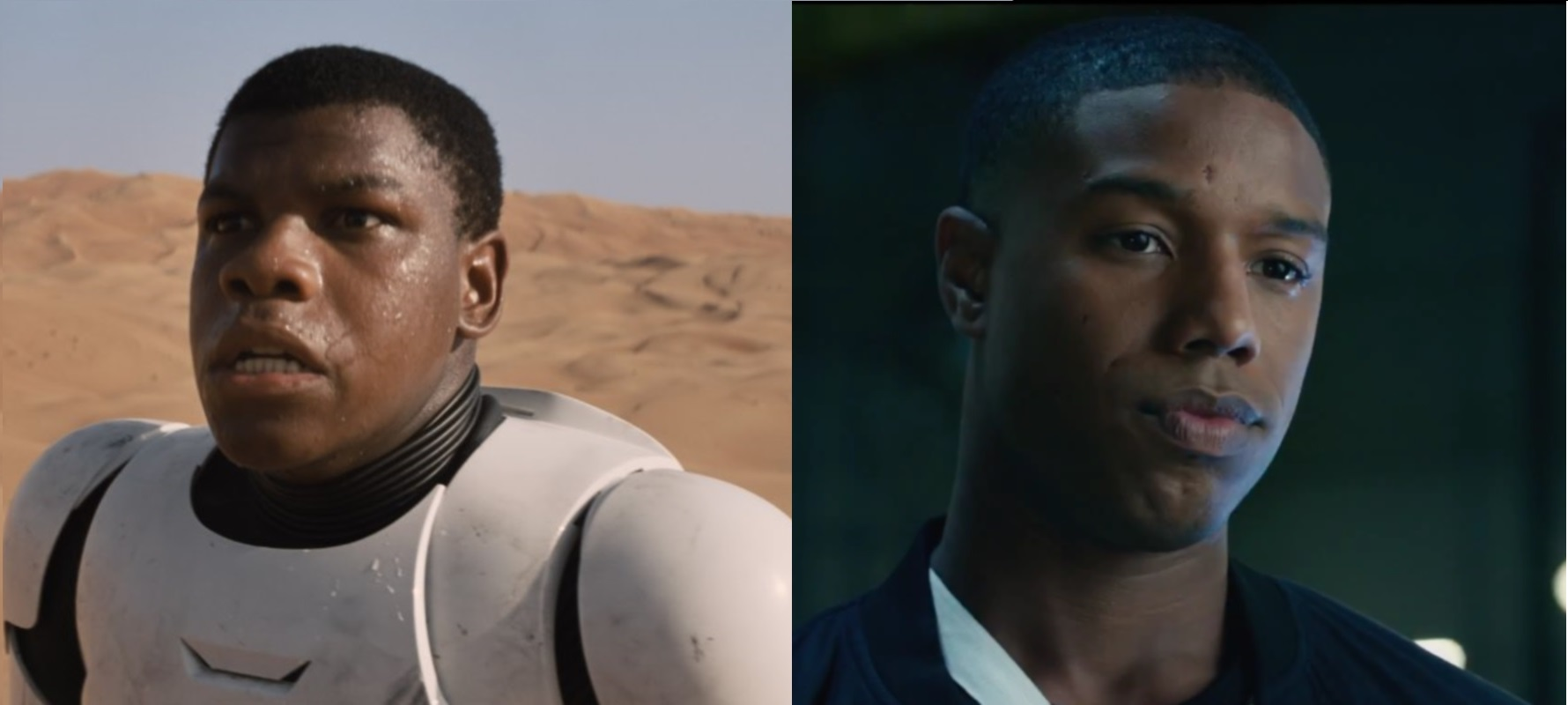 MOC Monday: John Boyega and Michael B. Jordan - JUST ADD COLOR-Affirming Ourselves Through Entertainment