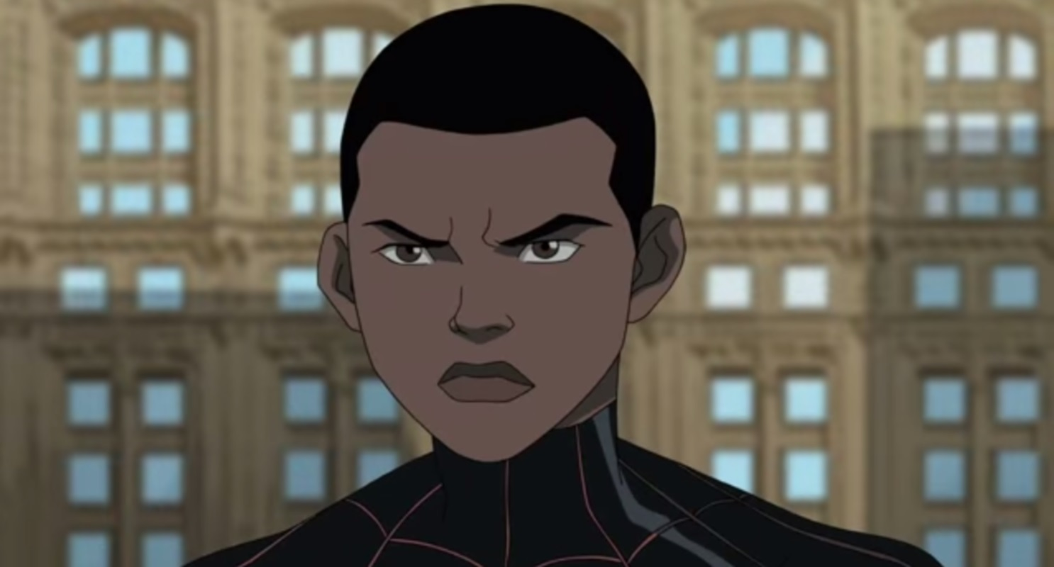 Miles-Morales-Spider-Man - JUST ADD COLOR