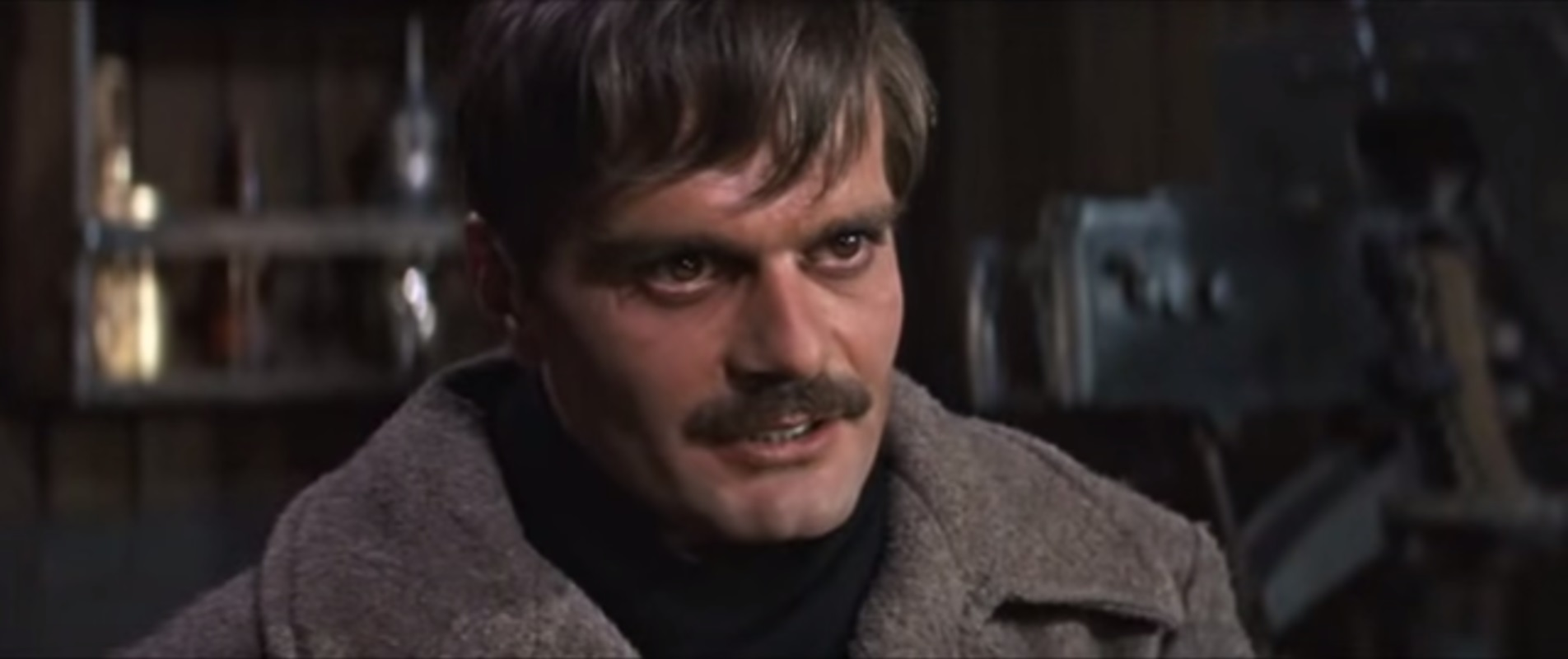 "Omar Sharif in ""Doctor Zhivago."" (Screengrab)"
