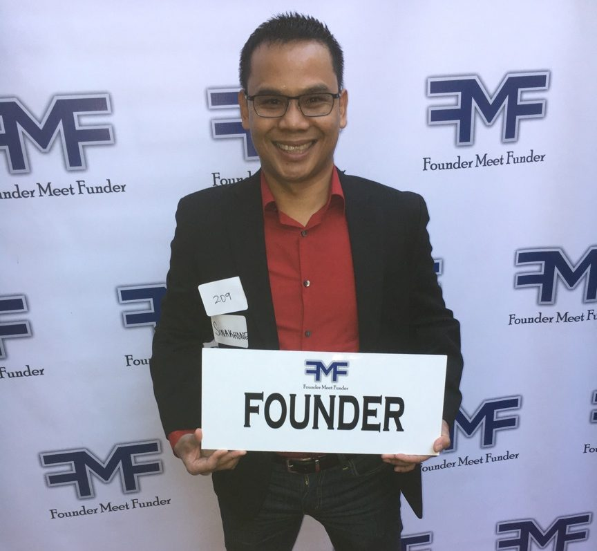 Sinakhone Keodara at Founder Meet Funder Event (Provided photo)