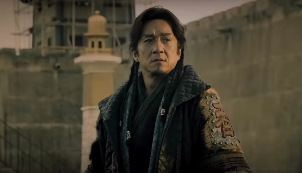 "Jackie Chan in 2015's ""Dragon Blade."" Lionsgate/YouTube screencap"