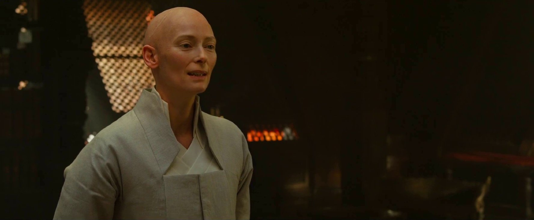 Tilda Swinton in Doctor Strange.