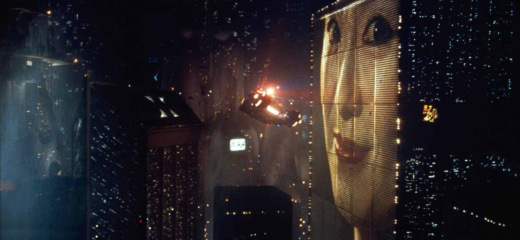 Actress Alexis Rhee portrays the geisha depicted in Blade Runner. (Warner Bros.)