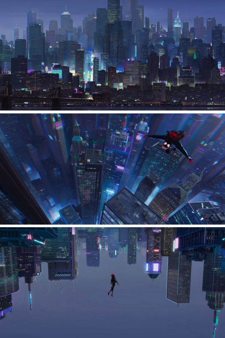 Is Spider Man Into The Spider Verse Literally The Most Beautiful