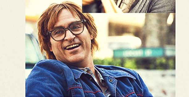 "Joaquin Phoenix in ""Don't Worry, He Won't Get Far on Foot."""