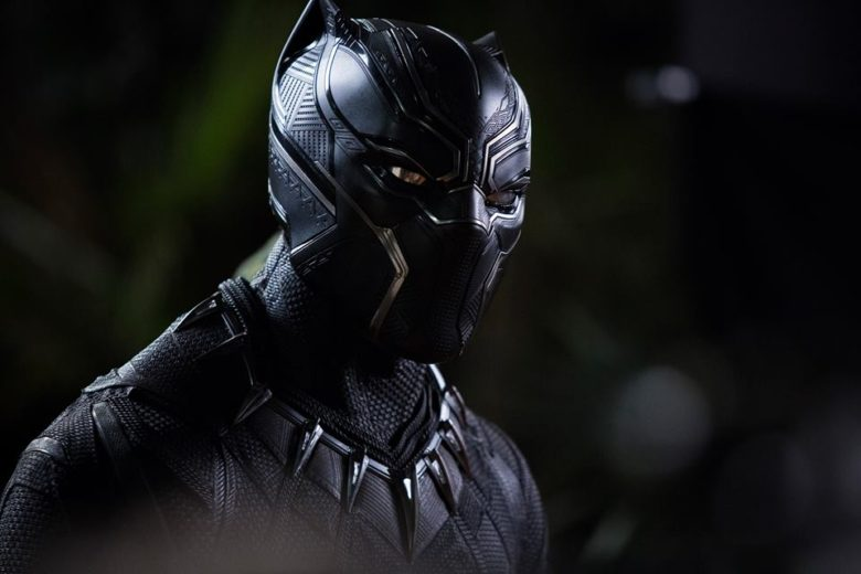 Black Panther, suited up.