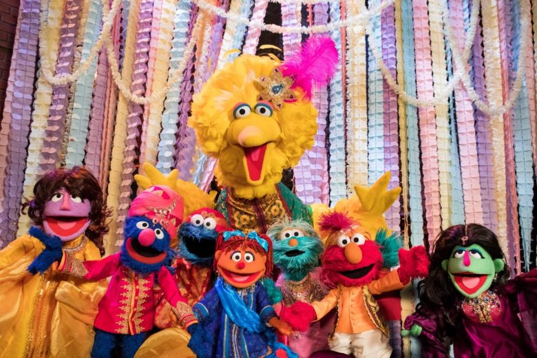 Big Bird, Grover, Elmo, Zoe and other Muppets have fun exploring Indian traditions while dressed in traditional Indian clothes.