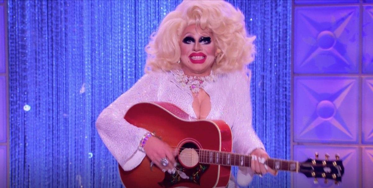 Trixie Mattel as Dolly Parton