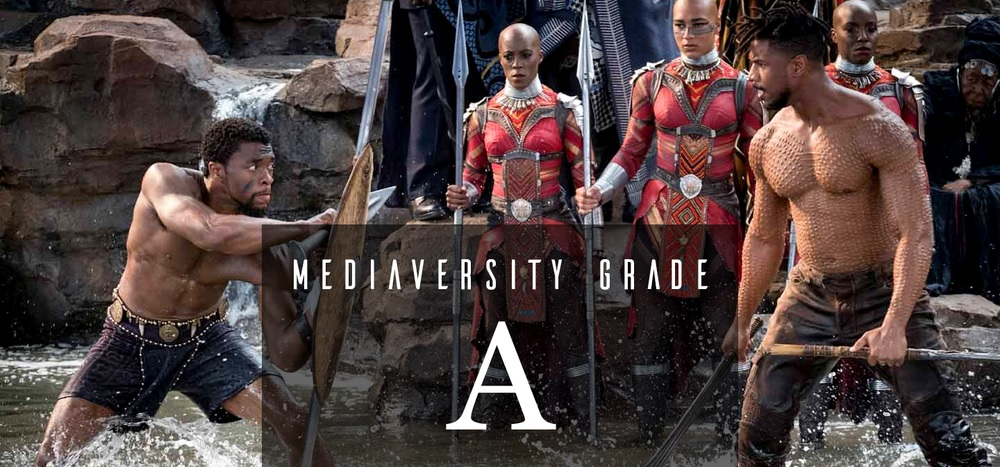 Mediaversity grade for Black Panther: A