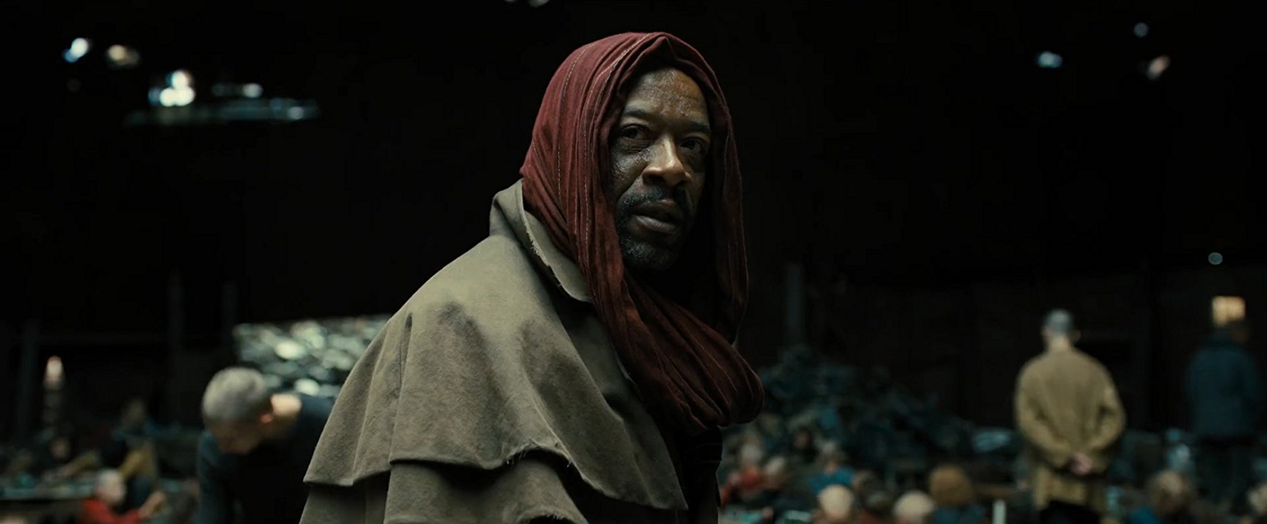 Lennie James as Mister Cotton.