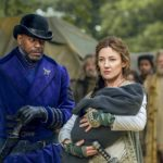 Sherman Augustus and Orla Brady in Into the Badlands