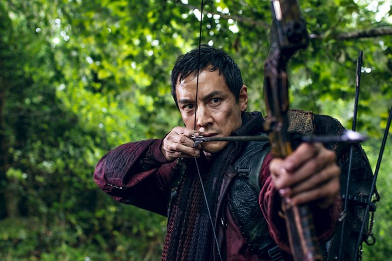 Daniel Wu in Into the Badlands