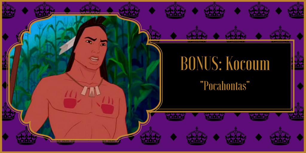 """Bonus: Kocoum, """"Pocahontas"""""""