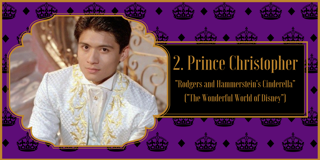 "Prince Christopher, ""Rodgers and Hammerstein's Cinderella"" from ""The Wonderful World of Disney"""