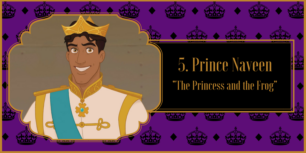 "Prince Naveen, ""The Princess and the Frog"""