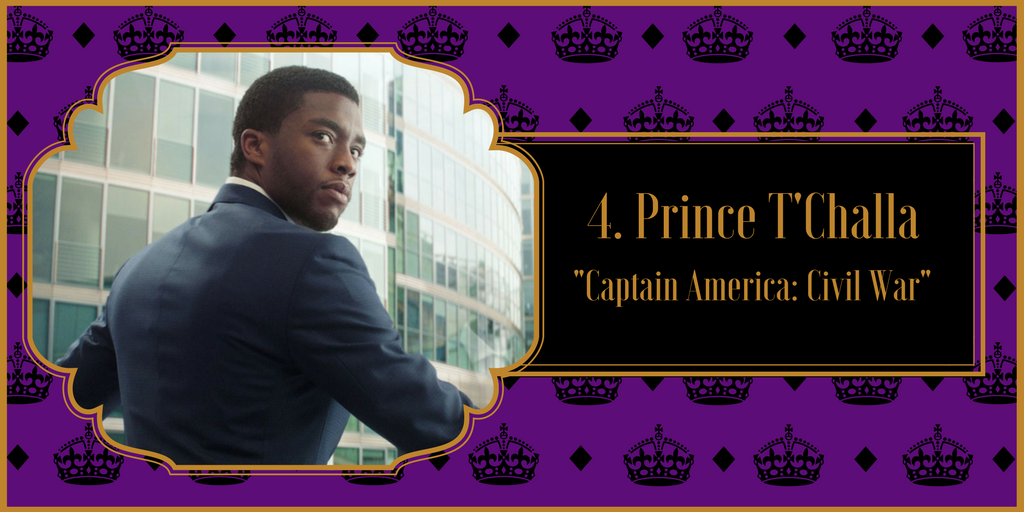 "Prince T'Challa, ""Captain America: Civil War"""