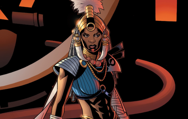 Shuri as the Aja-Adanna