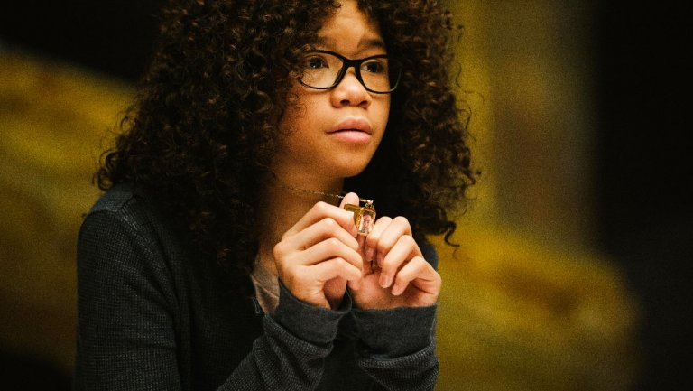 Storm Reid as Meg Murry in A Wrinkle in Time.