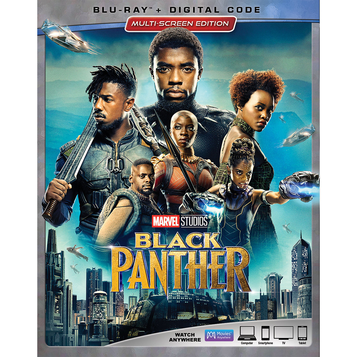 Black Panther DVD and Blu-ray combo