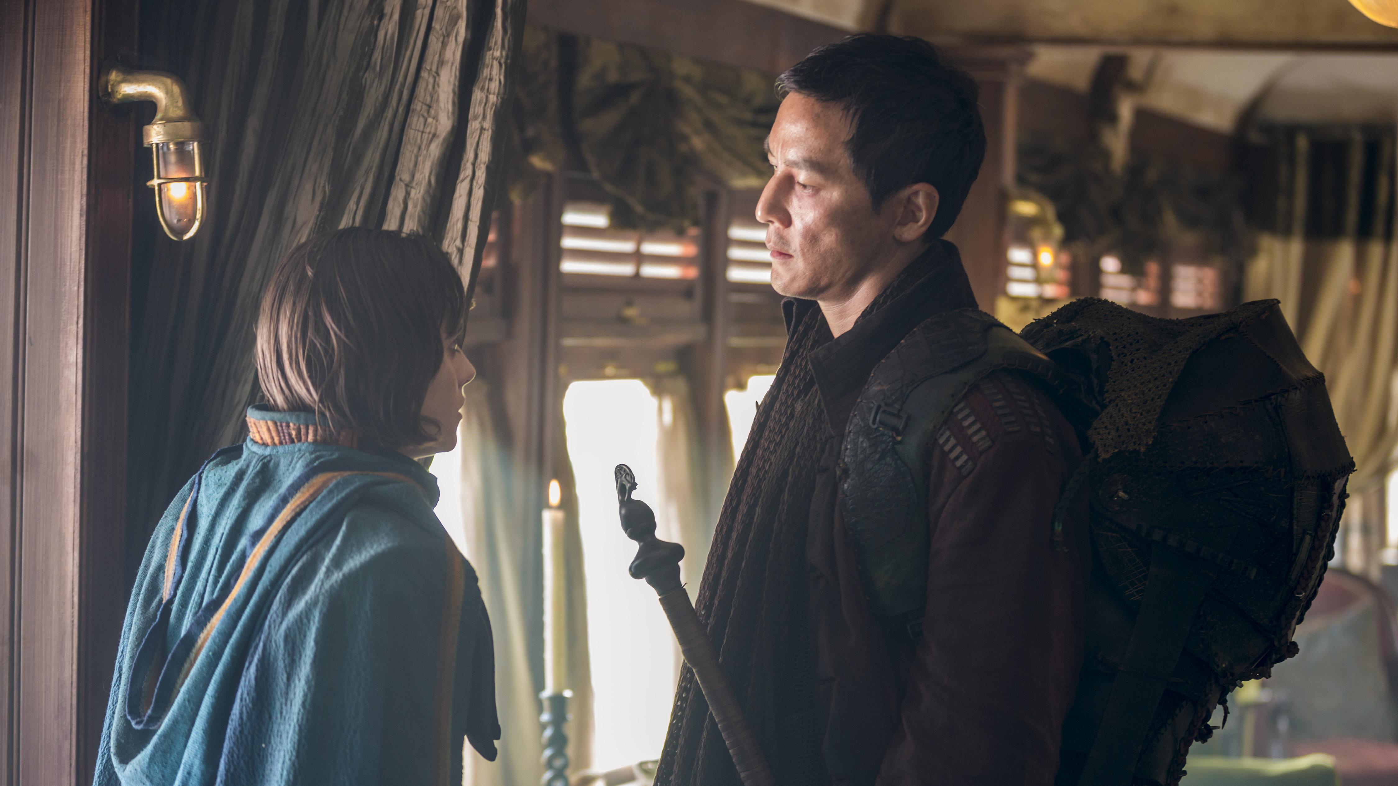 Ally Ioannides as Tilda, Daniel Wu as Sunny