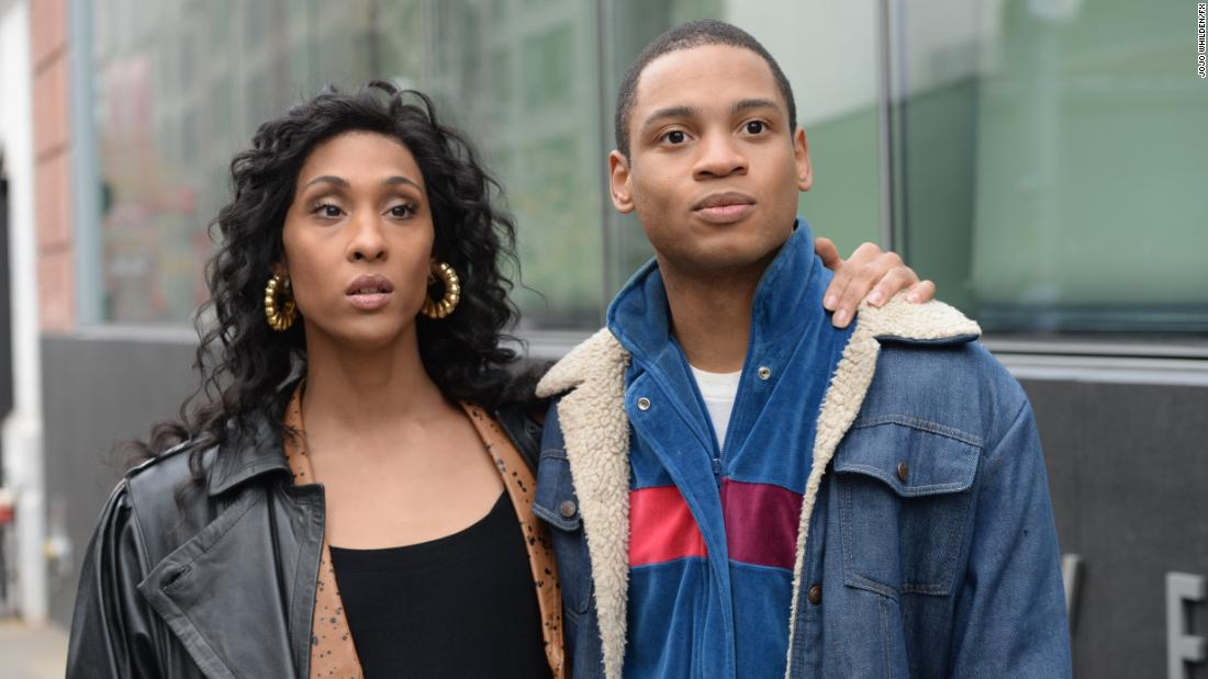 Pictured (l-r): Mj Rodriguez as Blanca, Ryan Jamaal Swain as Damon. (JoJo Whilden/FX)