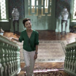 "Photo Credit: Sanja Bucko Caption: MICHELLE YEOH as Eleanor in Warner Bros. Pictures' and SK Global Entertainment's and Starlight Culture's contemporary romantic comedy ""CRAZY RICH ASIANS,"" a Warner Bros. Pictures release."