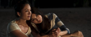 """Photo Credit: Sanja Bucko Caption: (L-R) CONSTANCE WU as Rachel and GEMMA CHAN as Astrid in Warner Bros. Pictures' and SK Global Entertainment's and Starlight Culture's contemporary romantic comedy """"CRAZY RICH ASIANS,"""" a Warner Bros. Pictures release."""