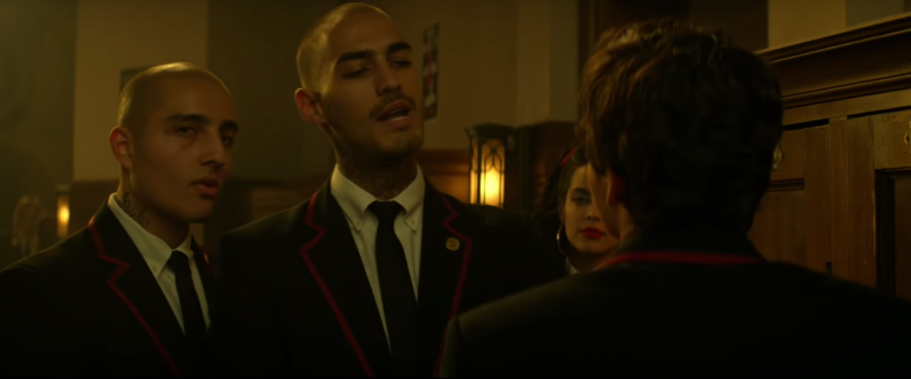 Michel Duval as Chico and Juan Grey as Juan. (SyFy/Screencap)