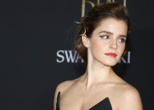 Emma Watson on the Swarovski red carpet.