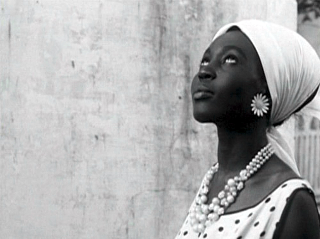 Mbissine Thérèse Diop stars as Diouana, a Senegalese woman who lives as a maid for a French family. This film will make its TCM debut this month. Photo credit: New Yorker Video