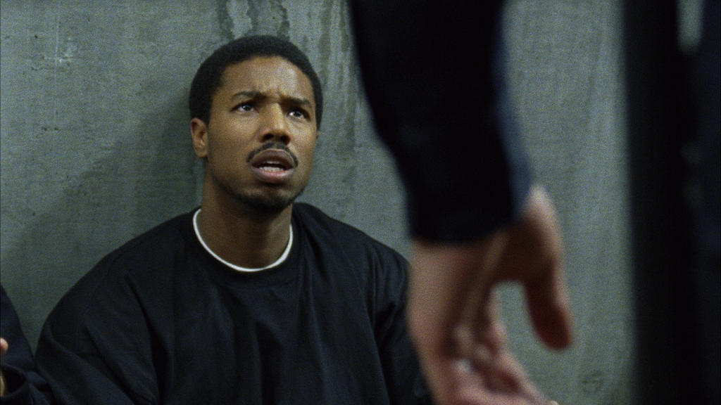 Michael B. Jordan in Fruitvale Station. Photo credit: The Weinstein Company. This is one of the 30 films Redbox recommends to learn about systemic racism.