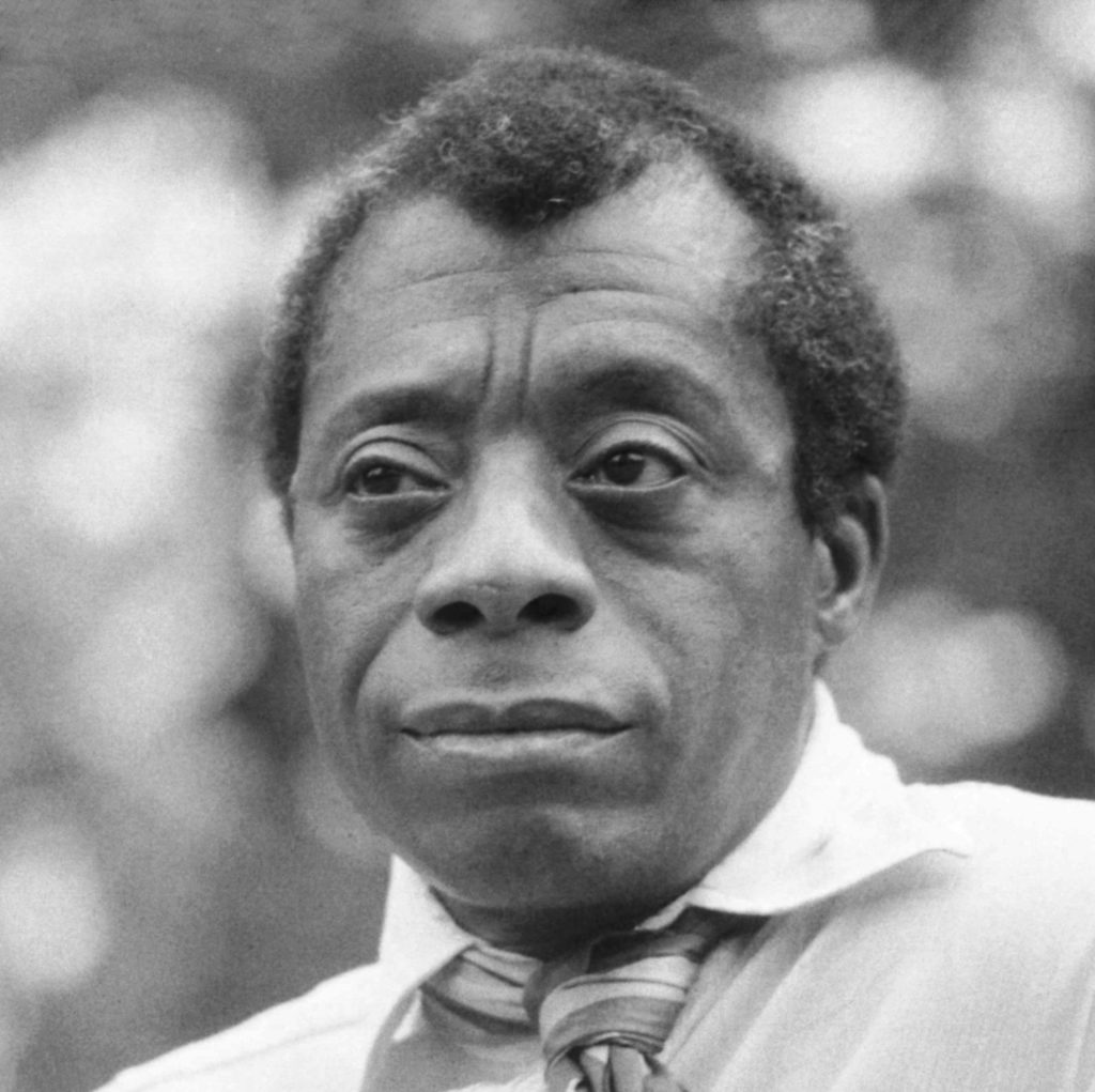James Baldwin taken in Hyde Park, London (Photo credit: Allan Warren/Wikimedia Commons--Creative Commons)