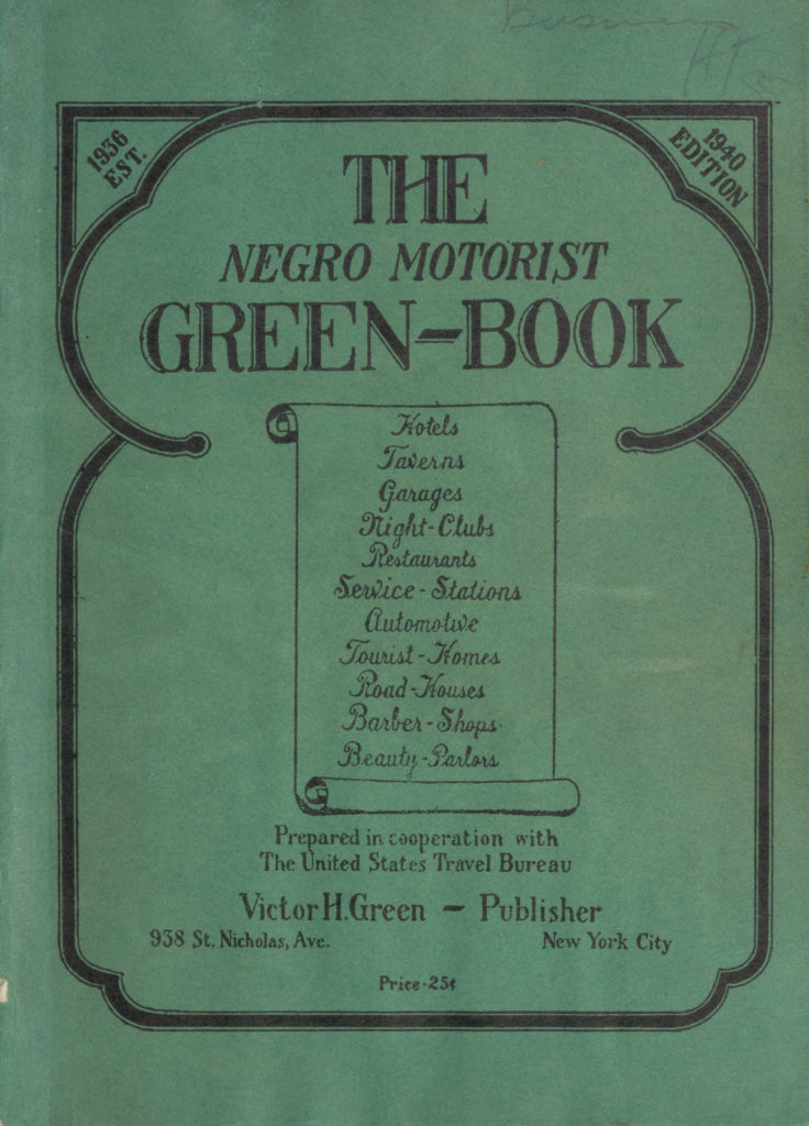 Cover of the book The Negro Motorist Green-Book (1940 edition). (Wikimedia Commons/Creative Commons)