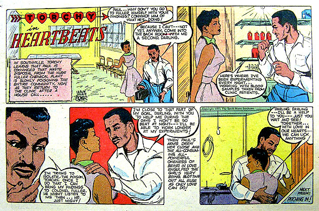 One of the Torchy Brown comics that showcased Black people as full depictions and not stereotypes.
