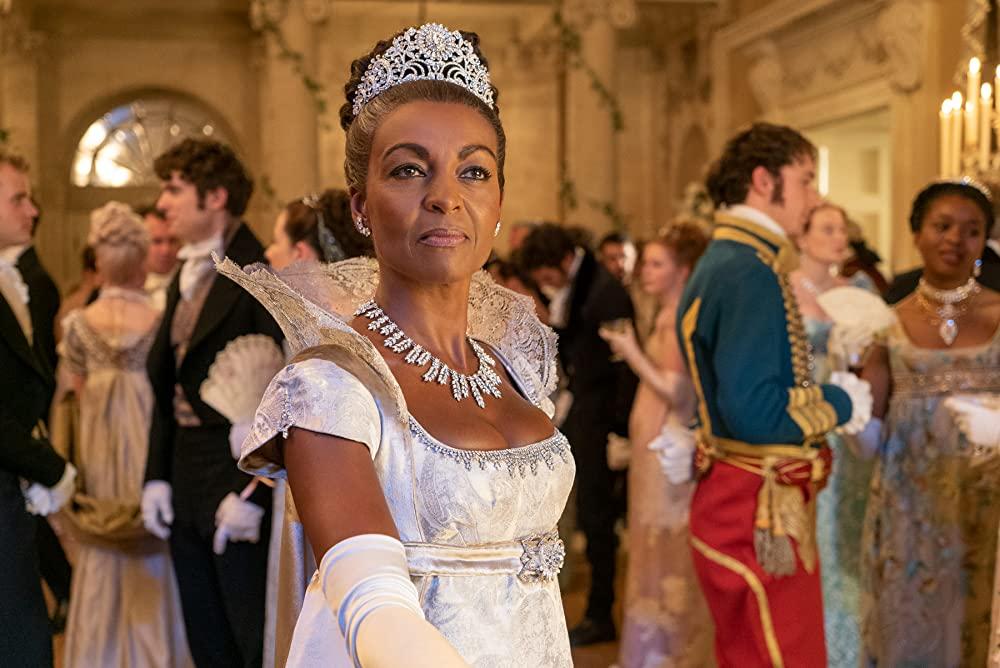 Adjoa Andoh as Lady Danbury. (Photo credit: Liam Daniel/Netflix)