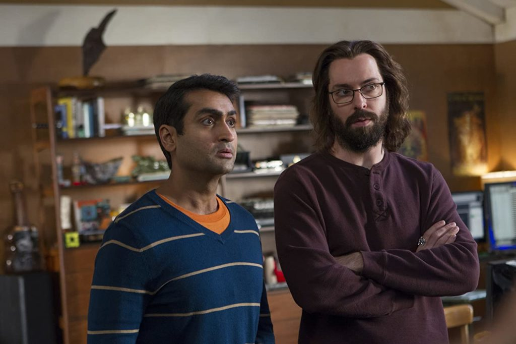 Martin Starr and Kumail Nanjiani in Silicon Valley.