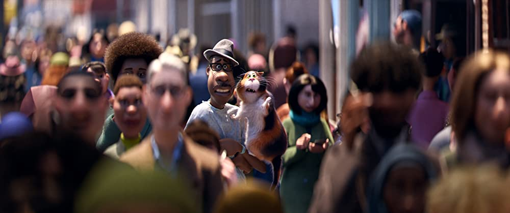 Joe is the cat and 22 is Joe. Why did this have to be the plot? (Photo credit: Disney/Pixar)