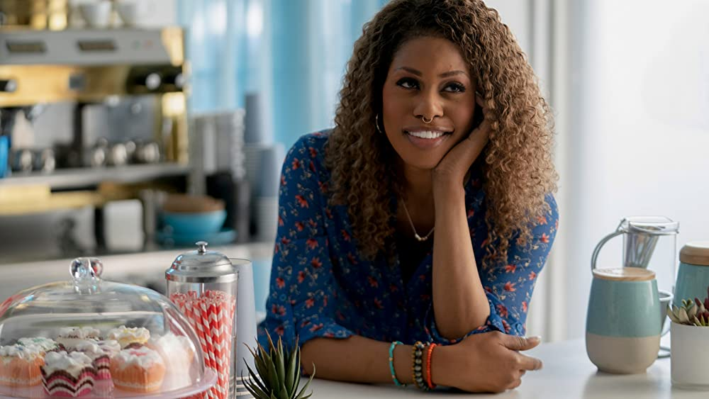 Laverne Cox as Gail in Promising Young Woman. (Photo credit: Focus Features)