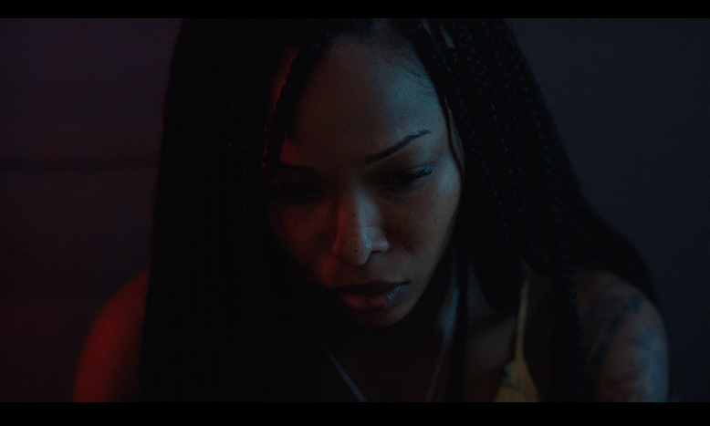 Brittany S. Hall as Renesha in Test Pattern. (Photo credit: Kino Lorber)