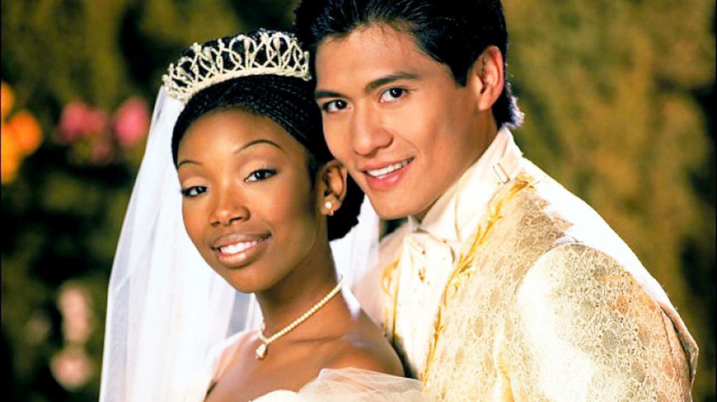 Brandy and Paolo Montalban in Cinderella. (Photo credit: Disney)