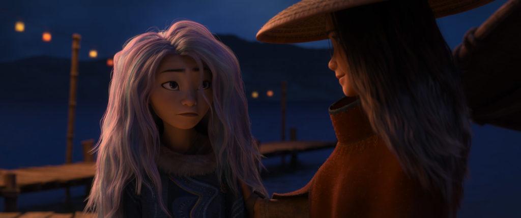 Awkwafina as Sisu in Raya and the Last Dragon. (Photo credit: Disney)