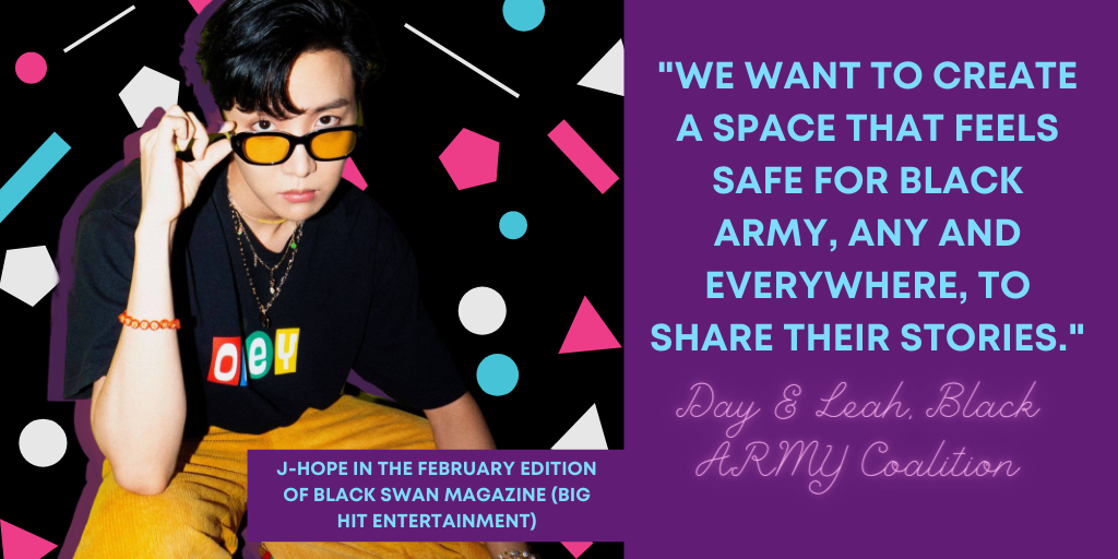 J-Hope as featured in Black Swan Magazine (Big Hit Entertainment)