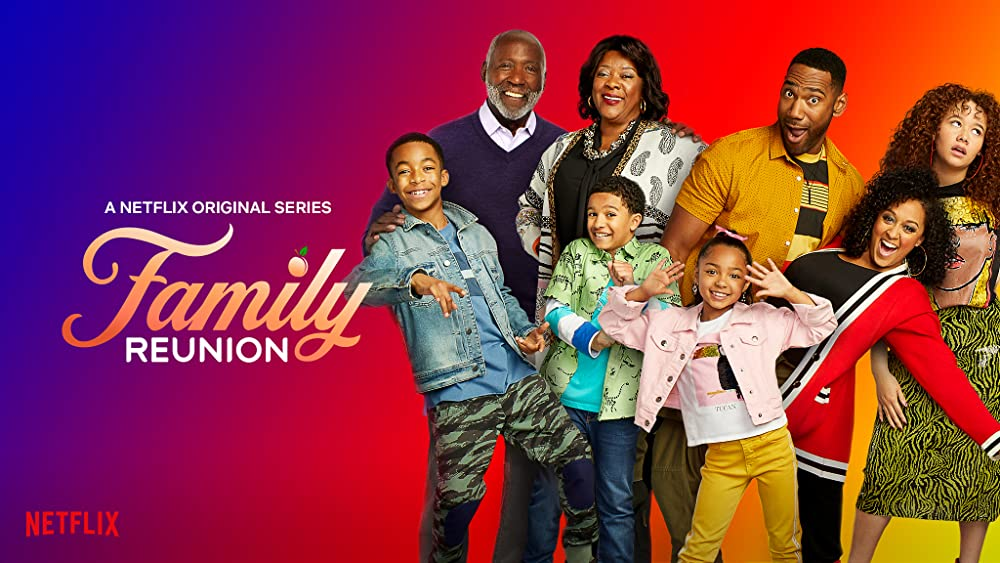 The cast of Family Reunion (Netflix)