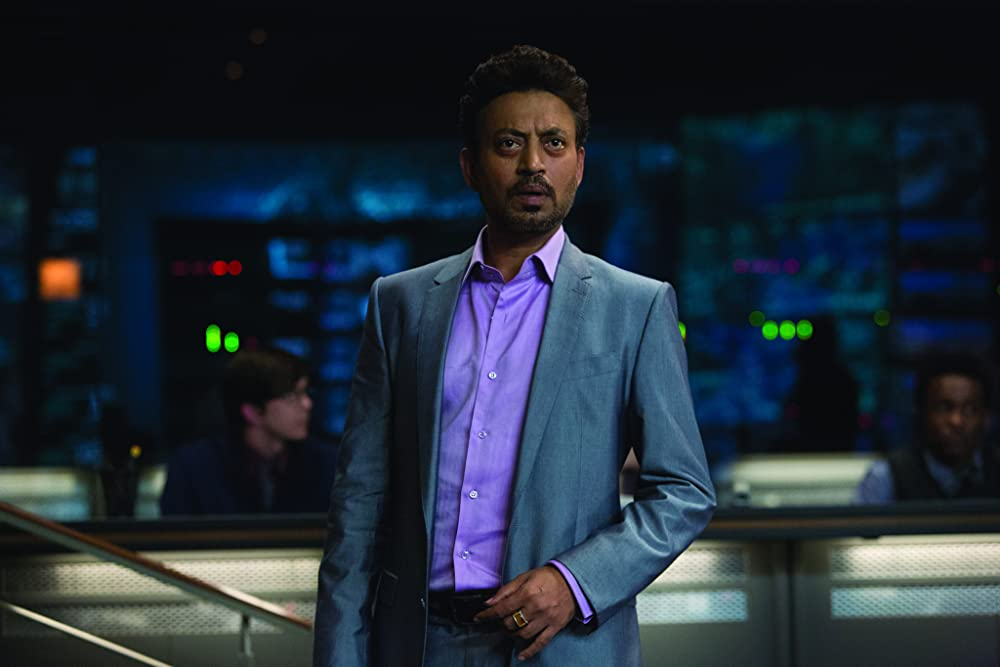 The late Irrfan Khan, whose character Jurassic World character Masrani died needlessly in a helicopter explosion toward the beginning of the film. (Chuck Zlotnick/Universal Pictures)