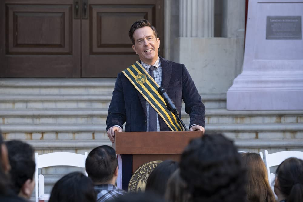 Ed Helms in Rutherford Falls