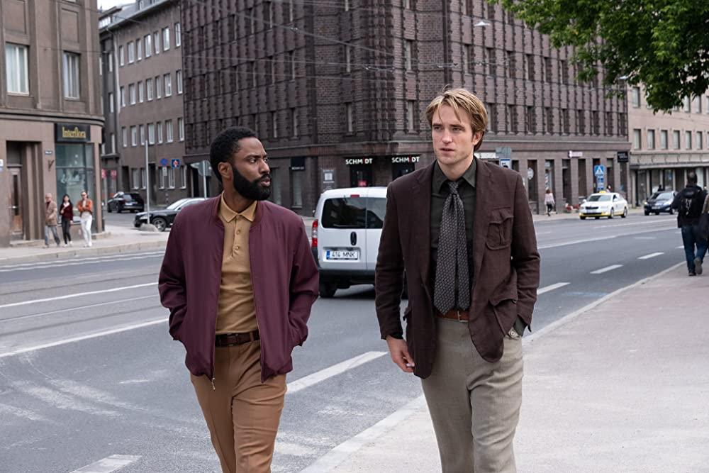 John David Washington and Robert Pattinson in Tenet (Warner Bros.)