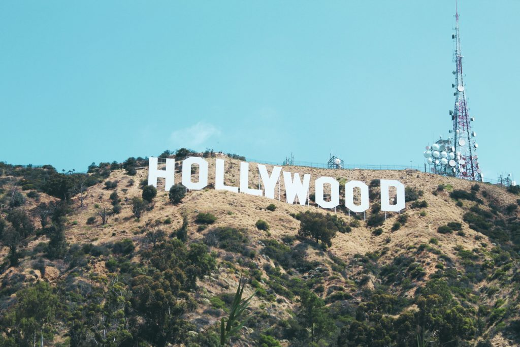 Photo of the Hollywood sign by Nathan DeFiesta