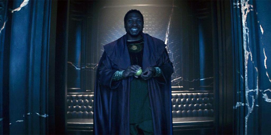 Jonathan Majors as He Who Remains in Loki. (Disney+)