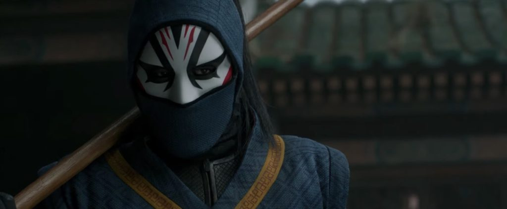 Andy Le as the Death Dealer in Shang-Chi